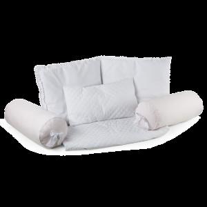 set cuscini per lettino sofà