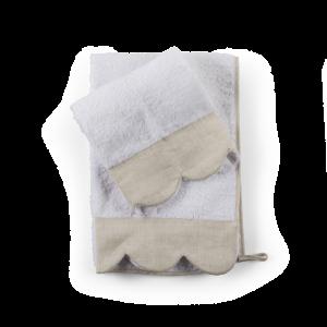 Set asciugamani spugna