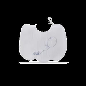 Bavetta nuvola con ricamo Palloncino