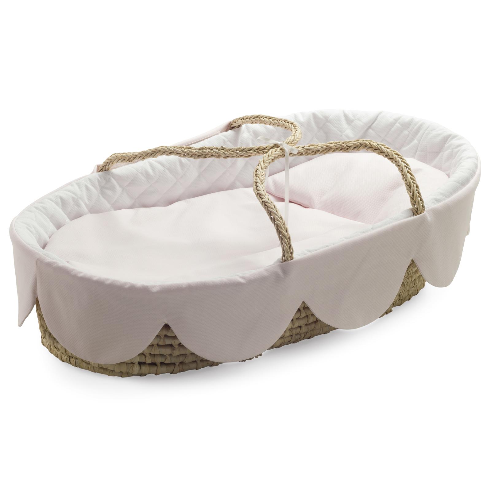cesta porte-enfant festone rosa bg white